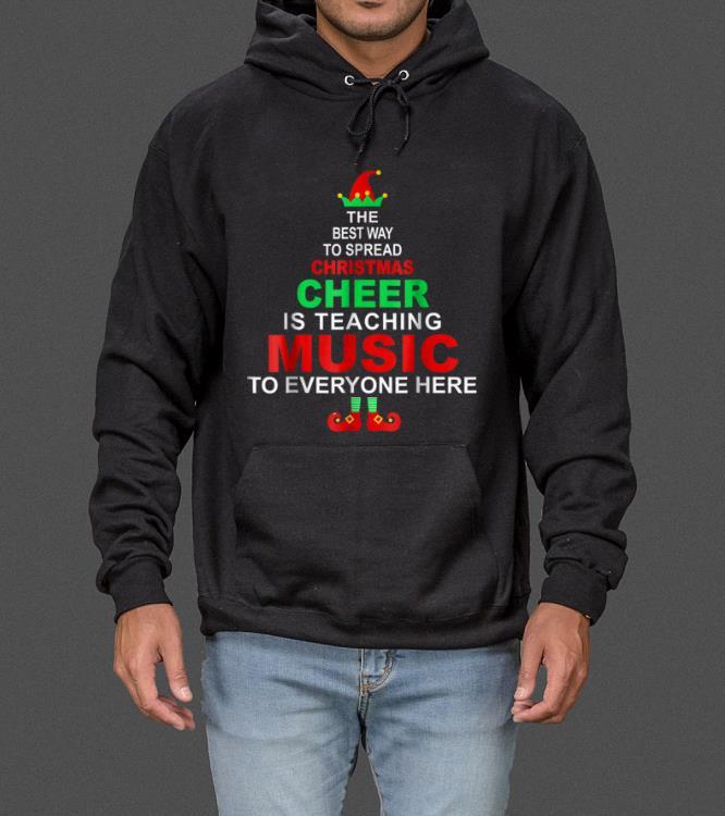 Hot Music Teacher Christmas - Elf Christmas Cheer sweater
