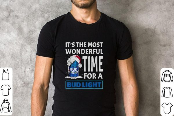 Pretty It S The Most Wonderful Time For A Bud Light Christmas Shirt 2 1.jpg
