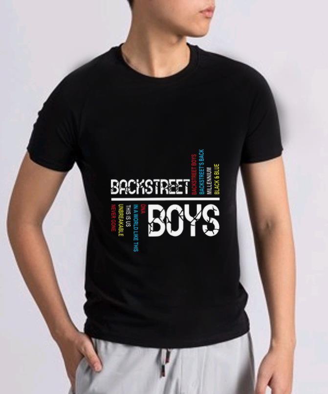 Great Backstreet Boys Backstreet S Back Millennium Black And Blue Shirt 2 1.jpg