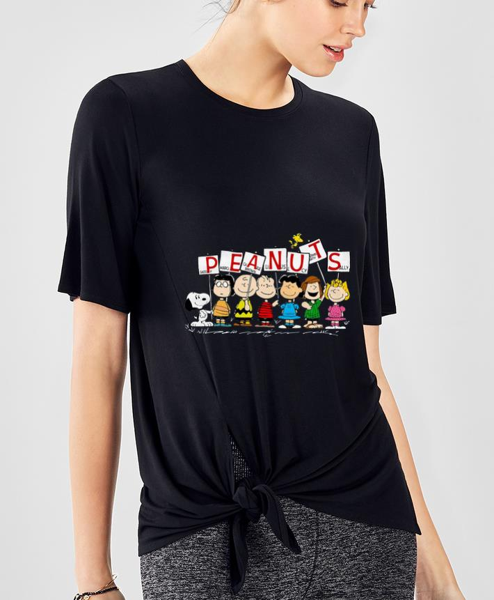 Great Peanuts Snoopy Marcie Charlie Brown Linus Lucy Peppermint Patty Sally shirt