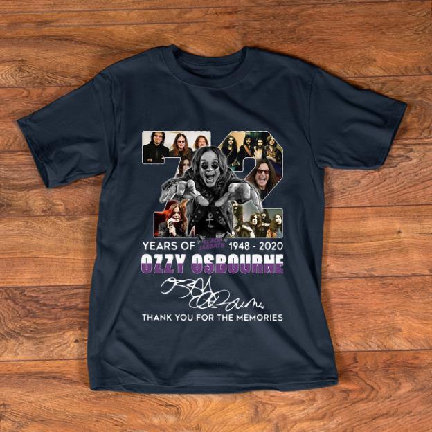 Official Black Sabbath Cutout Ozzy Osbourne T-Shirt