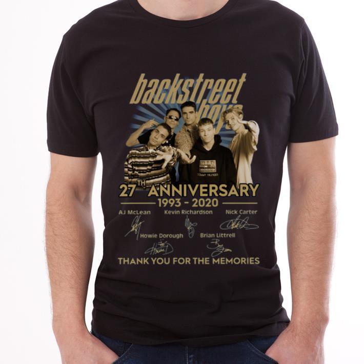 Premium Backstreet Boys 27th Anniversary Thank You For The Memories Signatures Shirt 3 1.jpg