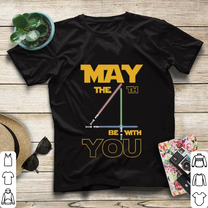 Top Star Wars May The 4th Be With You shirt