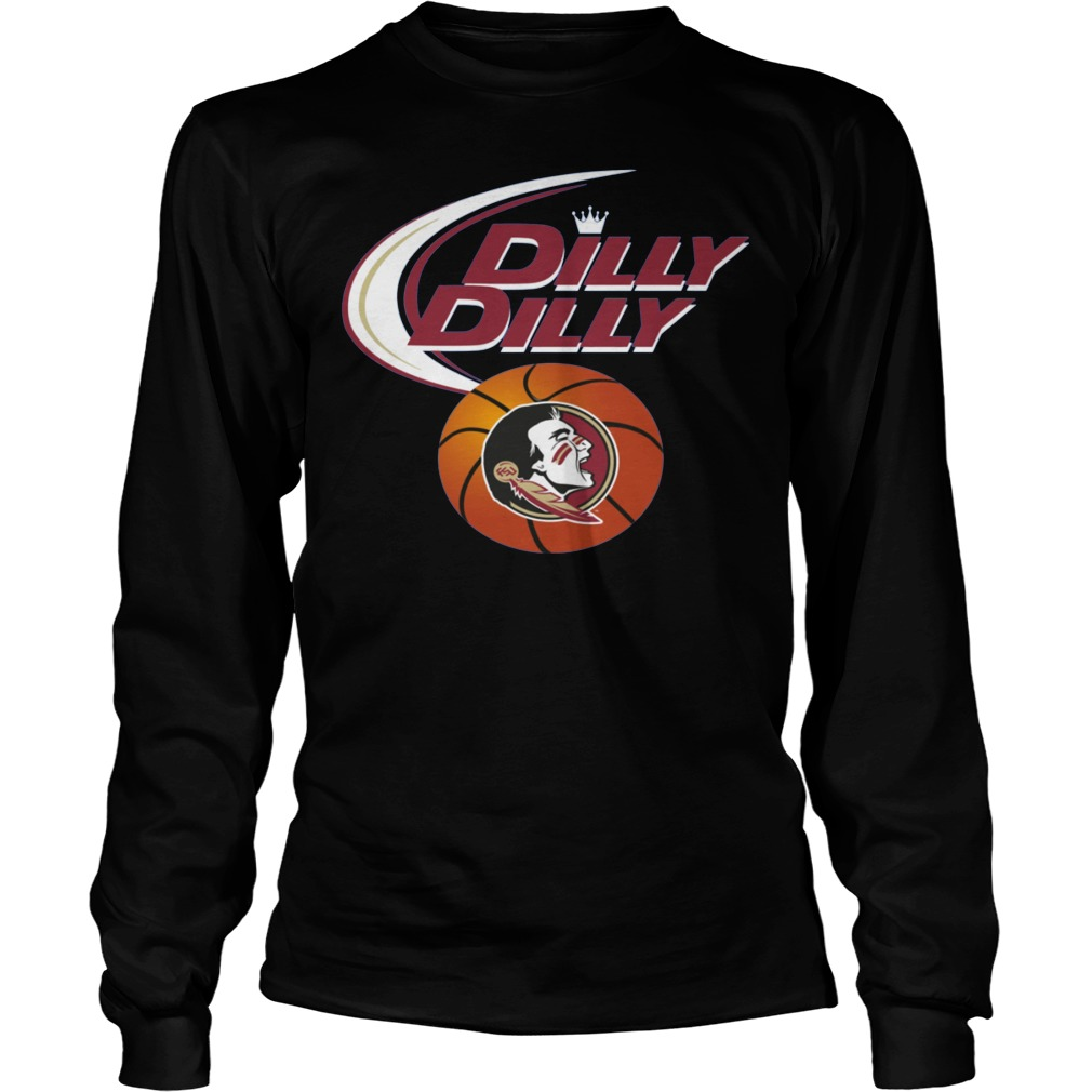 Basketball Florida State Seminoles Dilly Dilly Longsleeve
