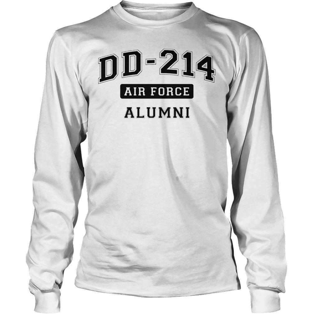 Dd214 Usaf Alumni Longsleeve