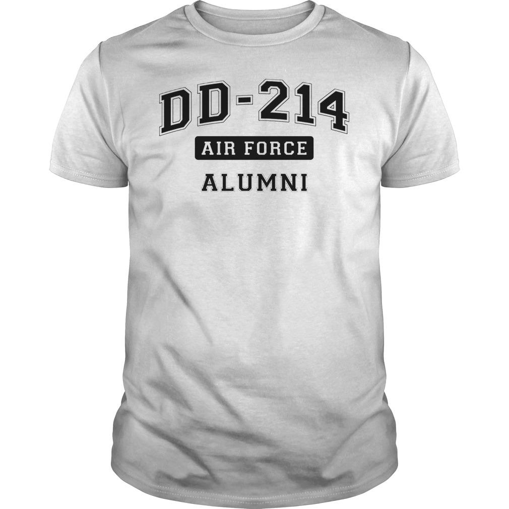 Dd214 Usaf Alumni Shirt