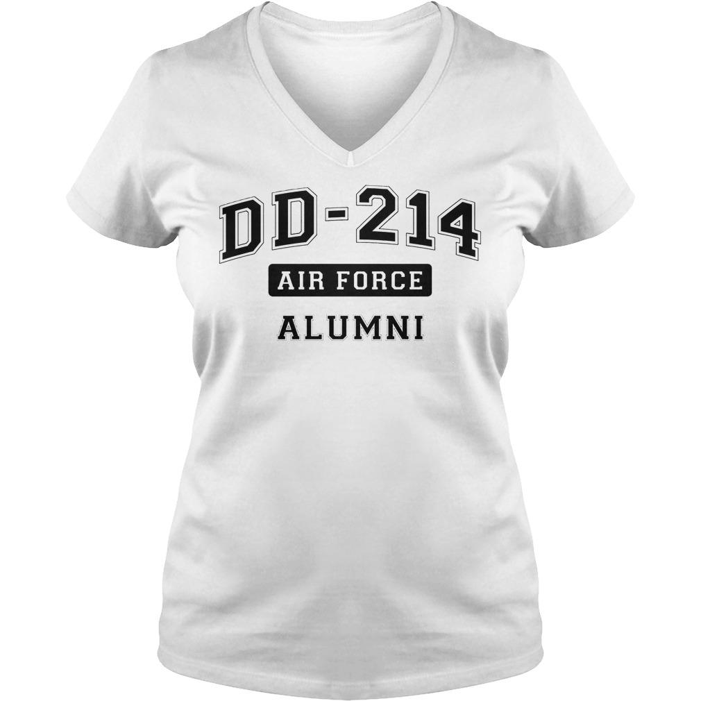 Dd214 Usaf Alumni V Neck
