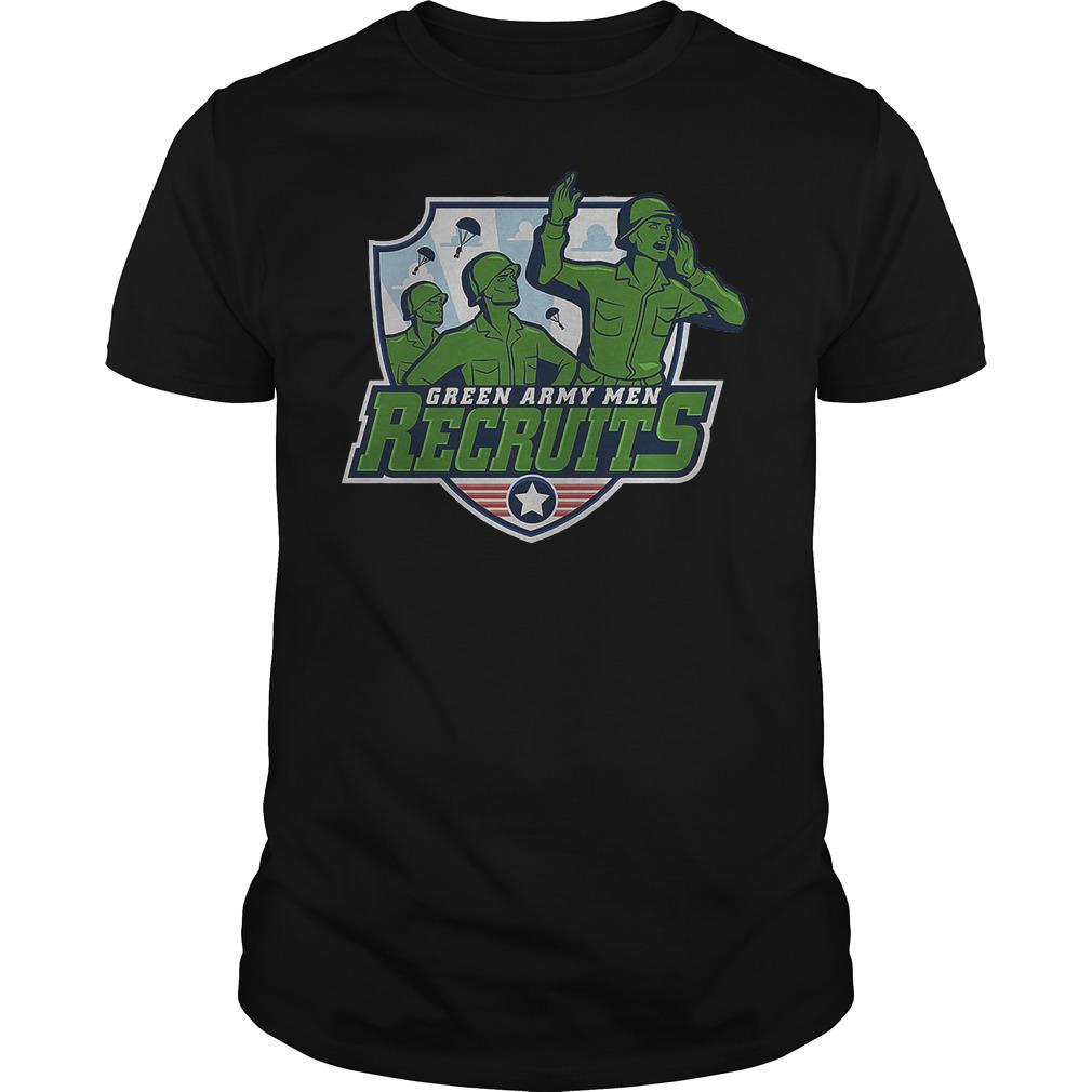 Disneyland Green Army Men Recruits Shirt