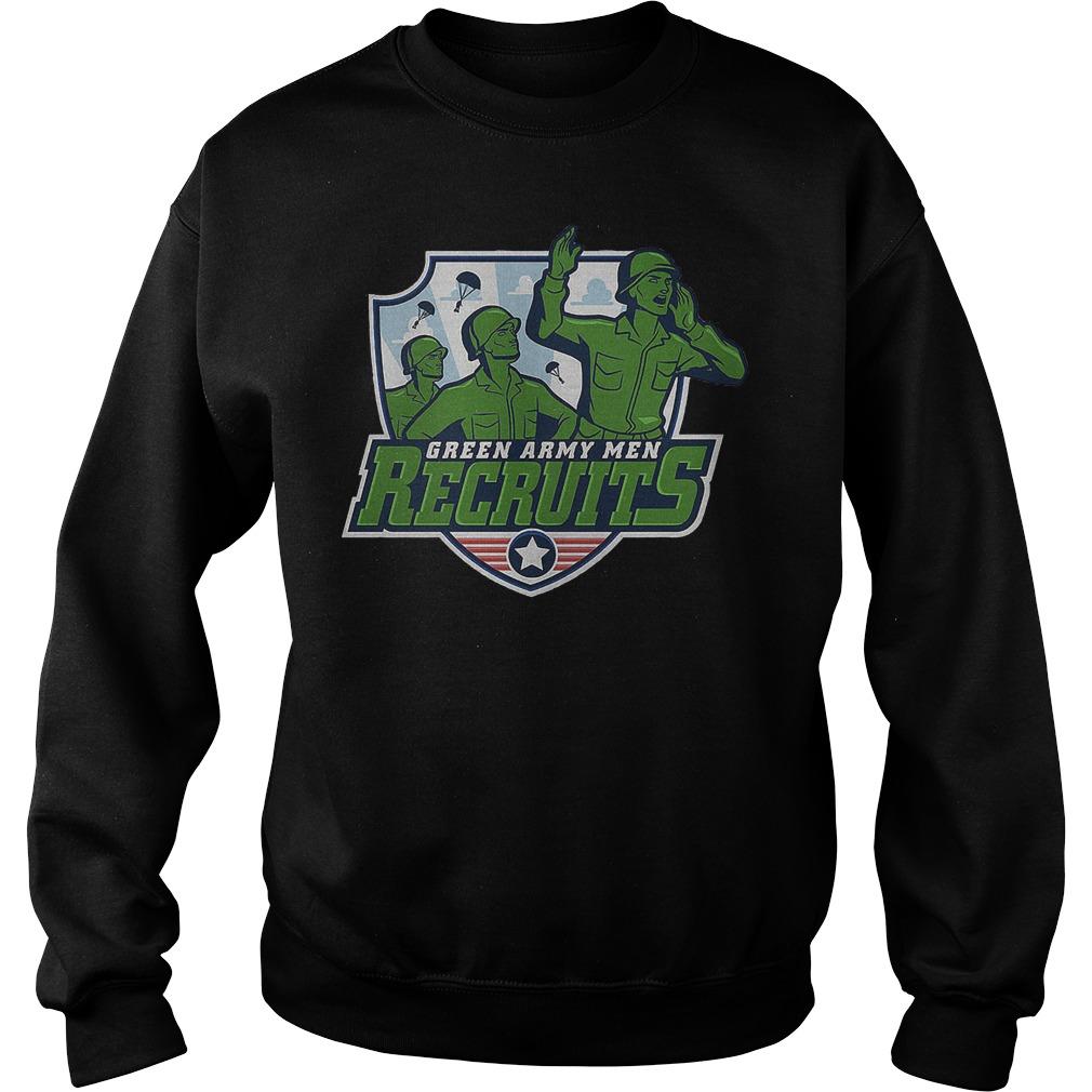 Disneyland Green Army Men Recruits Sweater