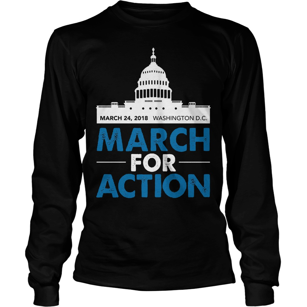 March For Action Longsleeve