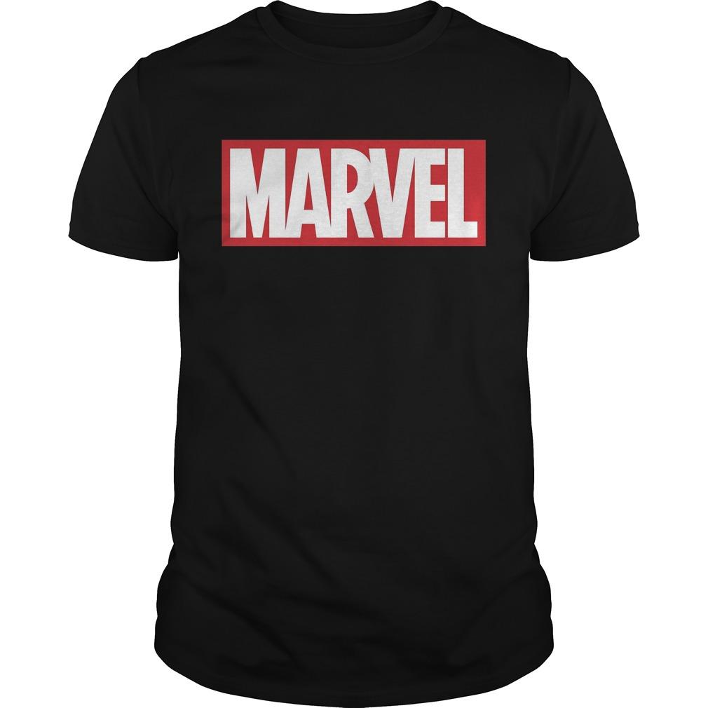 Marvel Classic Bold Logo Graphic Shirt