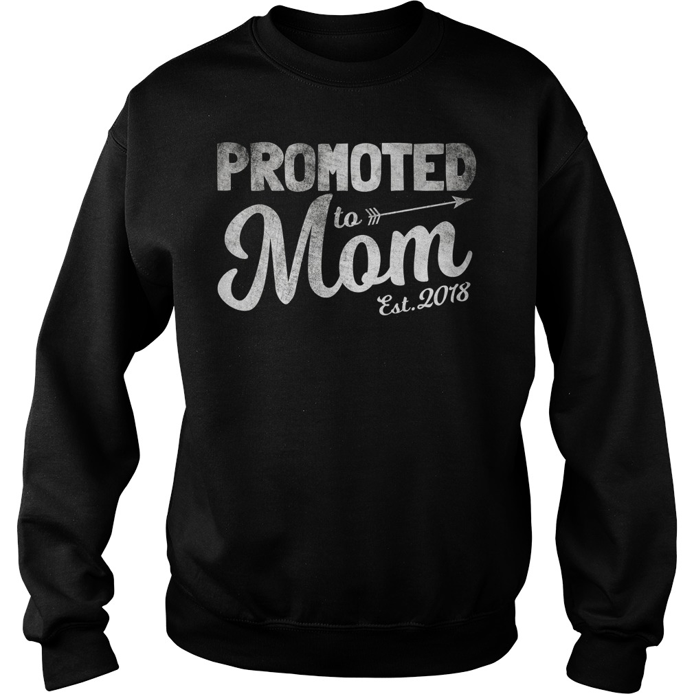 Promoted To Mom Est 2018 Sweater