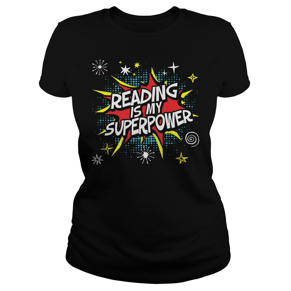 Reading Is My Superpower Ladies