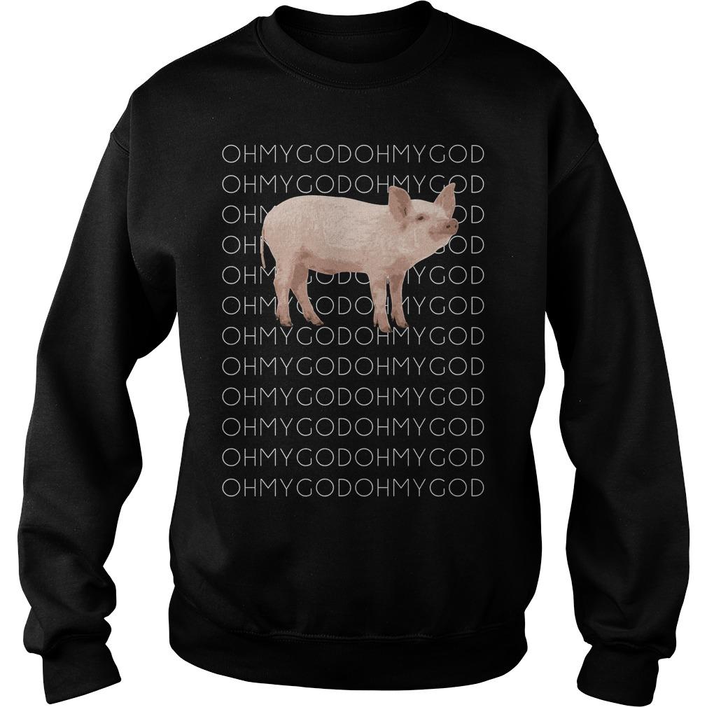 Shane Dawson Oh My God Pig Sweater