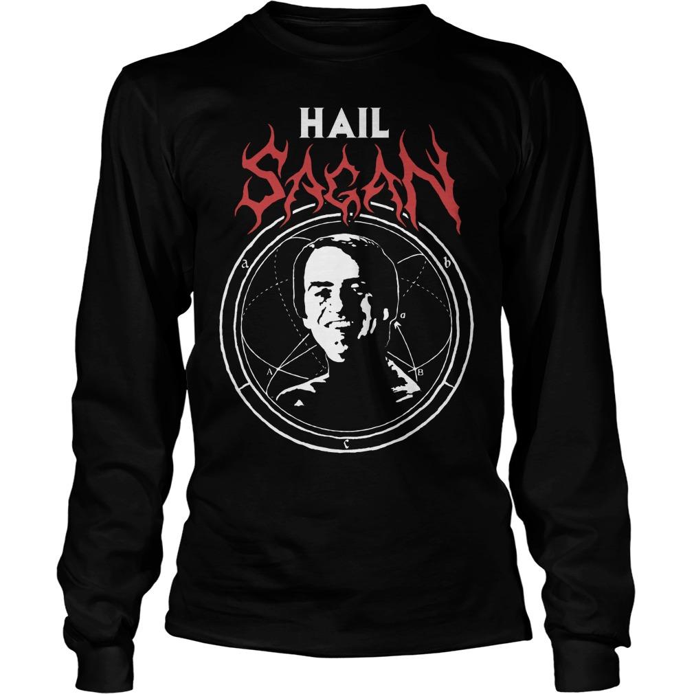 Camiseta Hail Sagan Longsleeve
