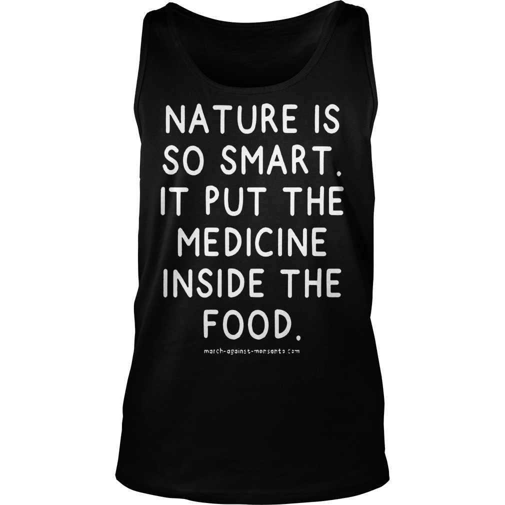 Nature Is So Smart Tanktop