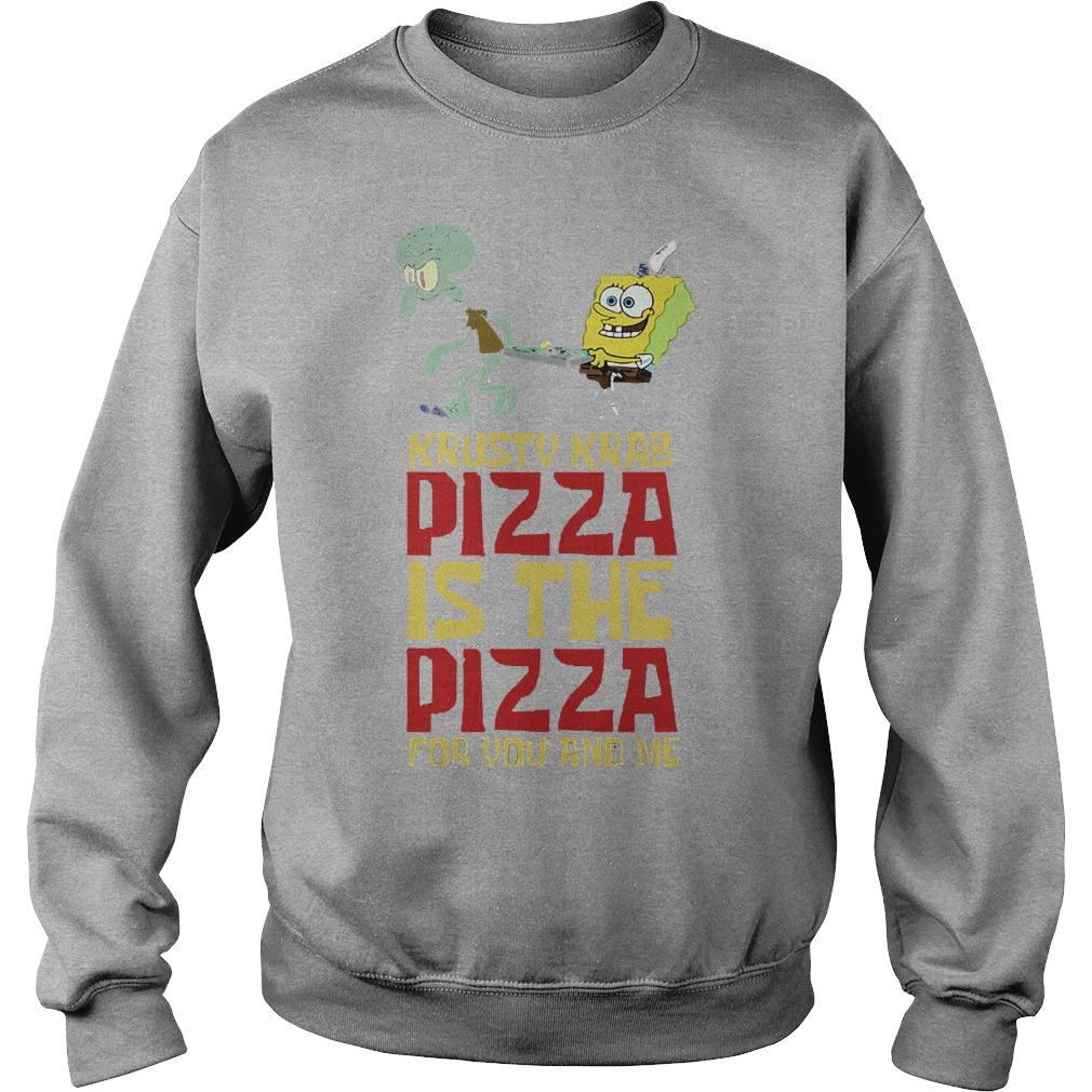 Spongebob Squarepant Krusty Krab Pizza Shirt Sweater