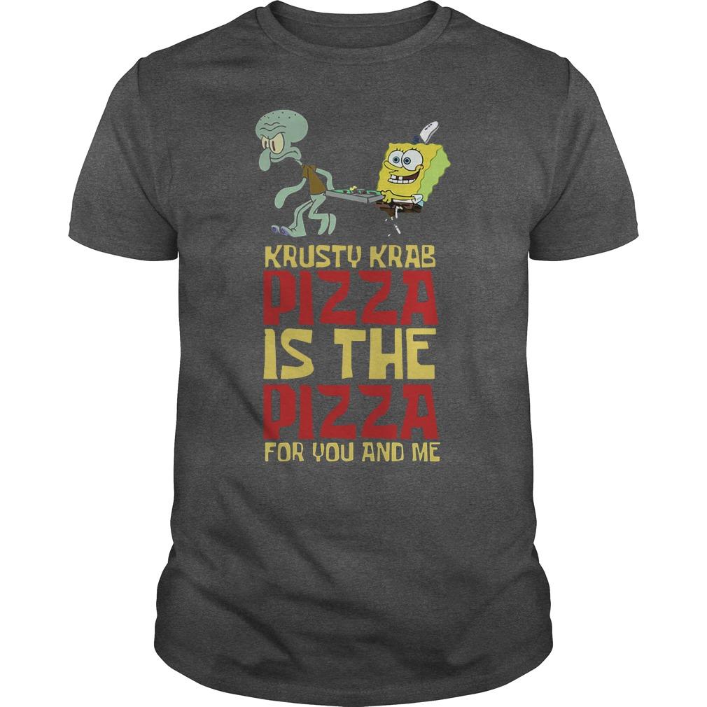 Spongebob Squarepant Krusty Krab Pizza Shirt
