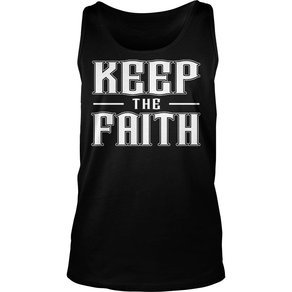 Keep The Faith Tanktop