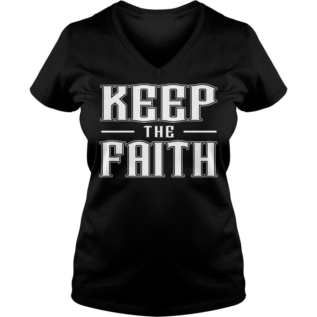 Keep The Faith V Neck