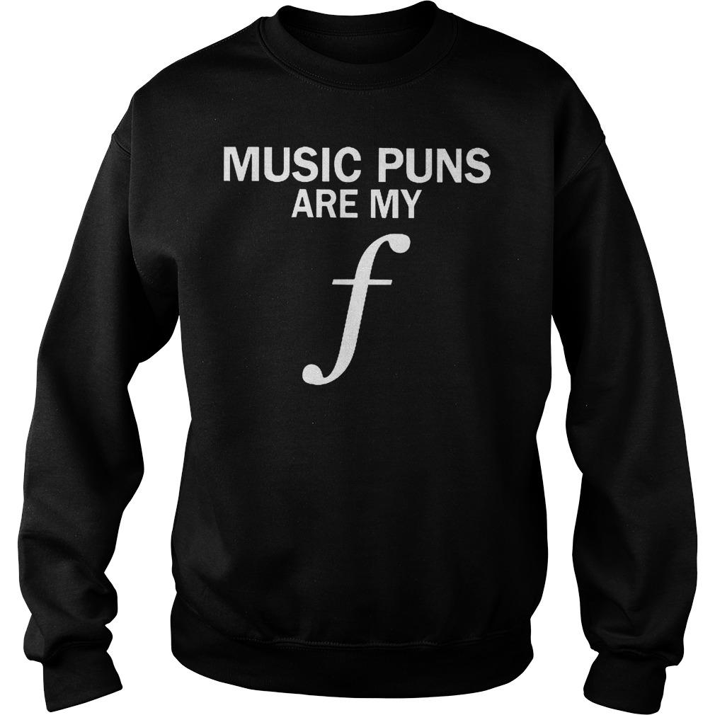 Music Puns Are My F Sweater