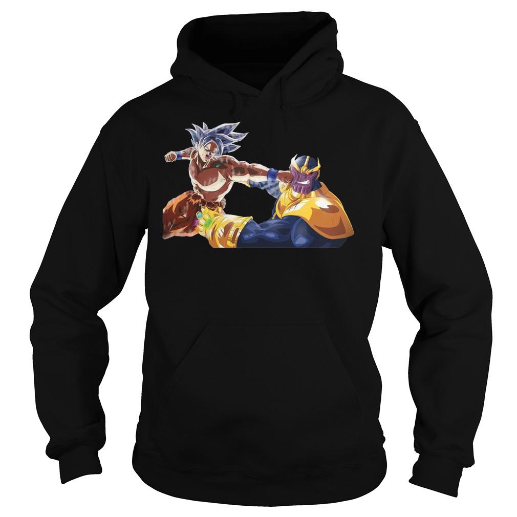 Thanos And Goku Fighting Hoodie