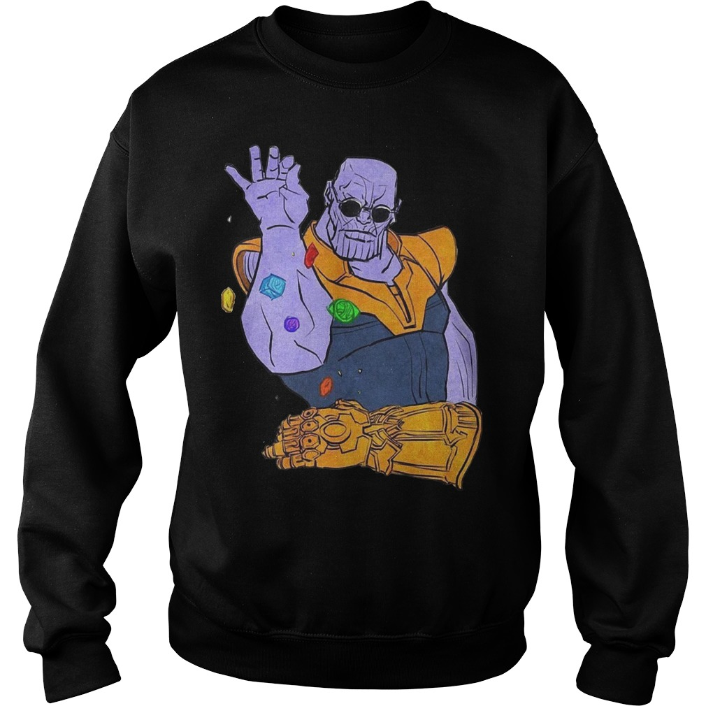 Thanos Salt Bae Meme Sweater