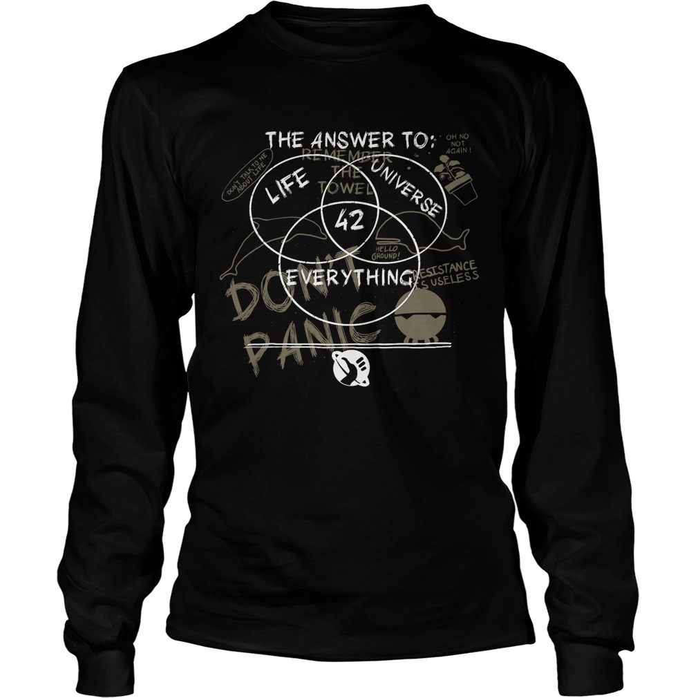 The Answer To Life Universe And Everything Longsleeve