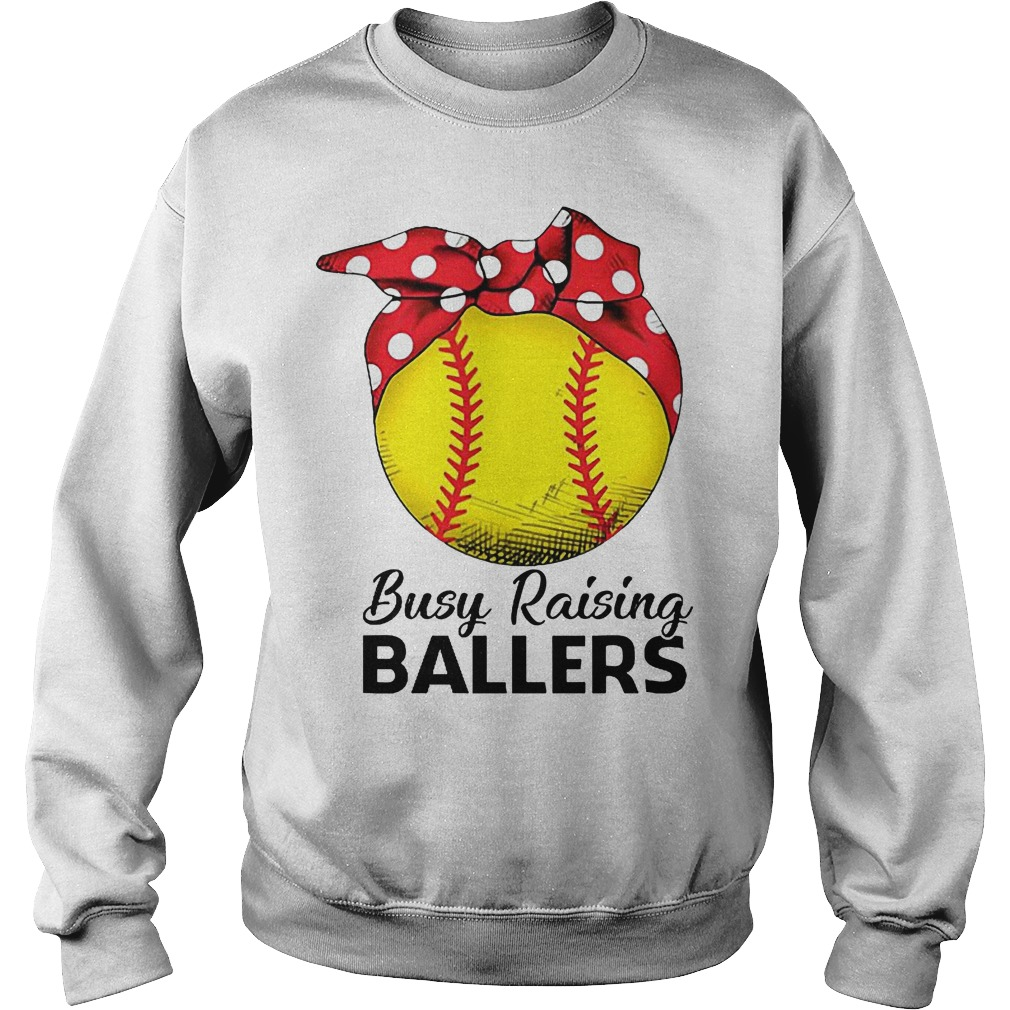 Baseball Busy Raising Ballers Sweater