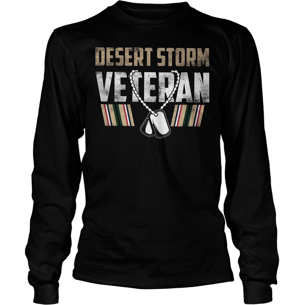 Desert Storm Veteran Longsleeve