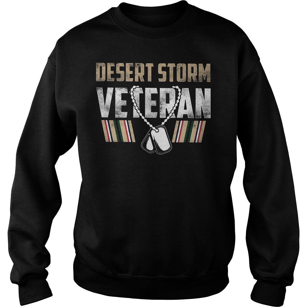 Desert Storm Veteran Sweater