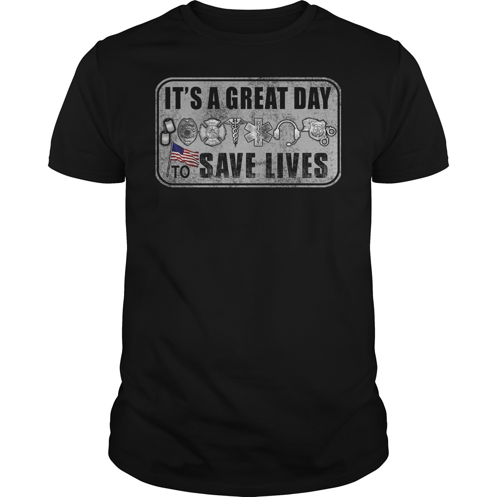 Its A Great Day To Save Lives