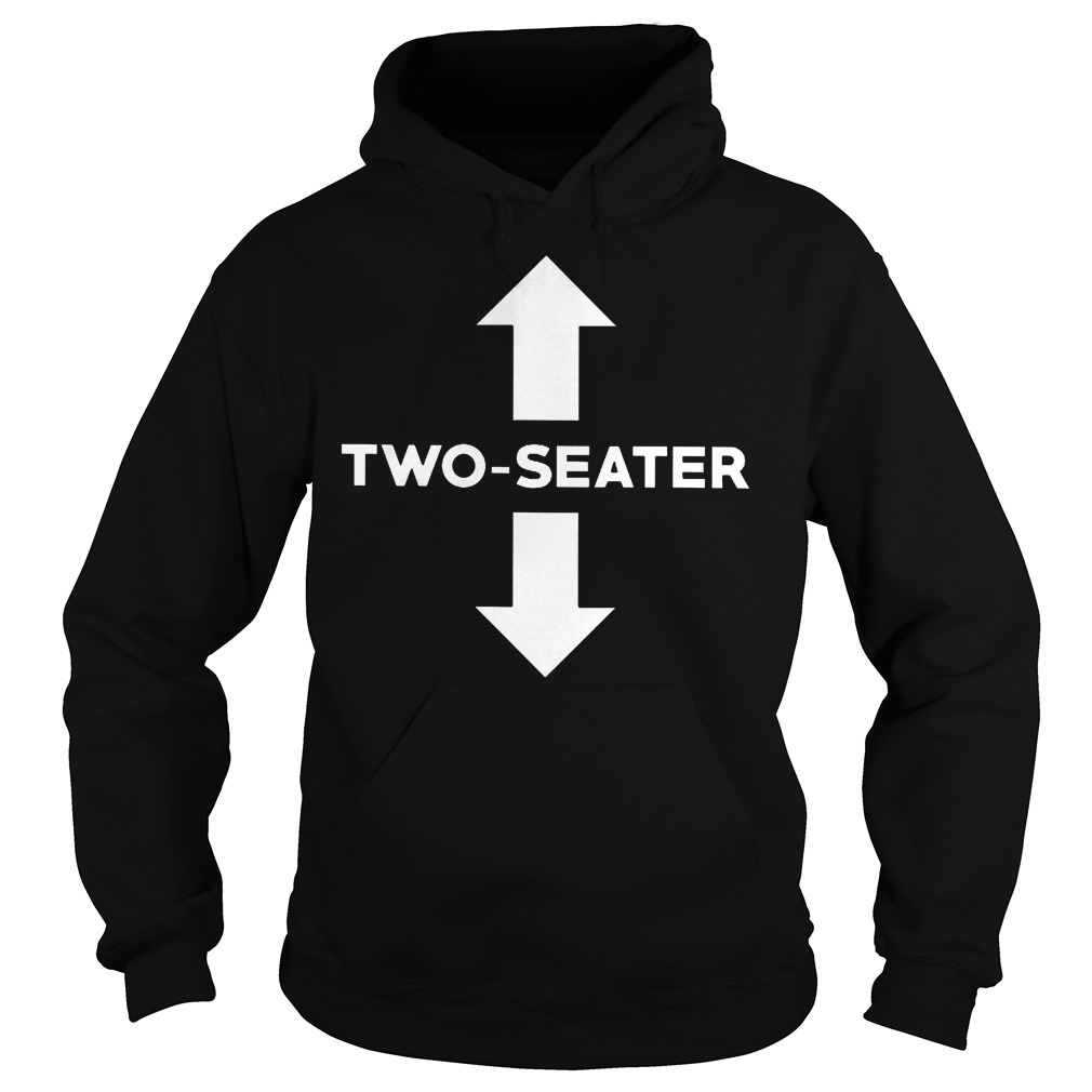 This Way Two Seater Hoodie