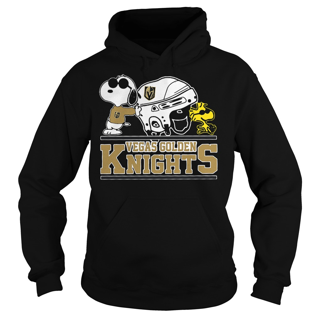 Vegas Golden Knights Snoopy And Woodstock Hoodie