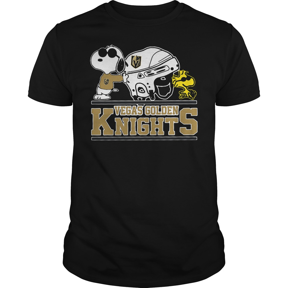 Vegas Golden Knights Snoopy And Woodstock T Shirt
