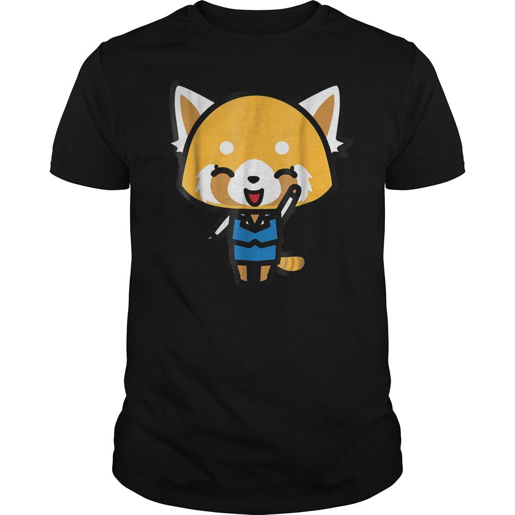 Aggretsuko Happy Mood T Shirt Guys Tee.jpg