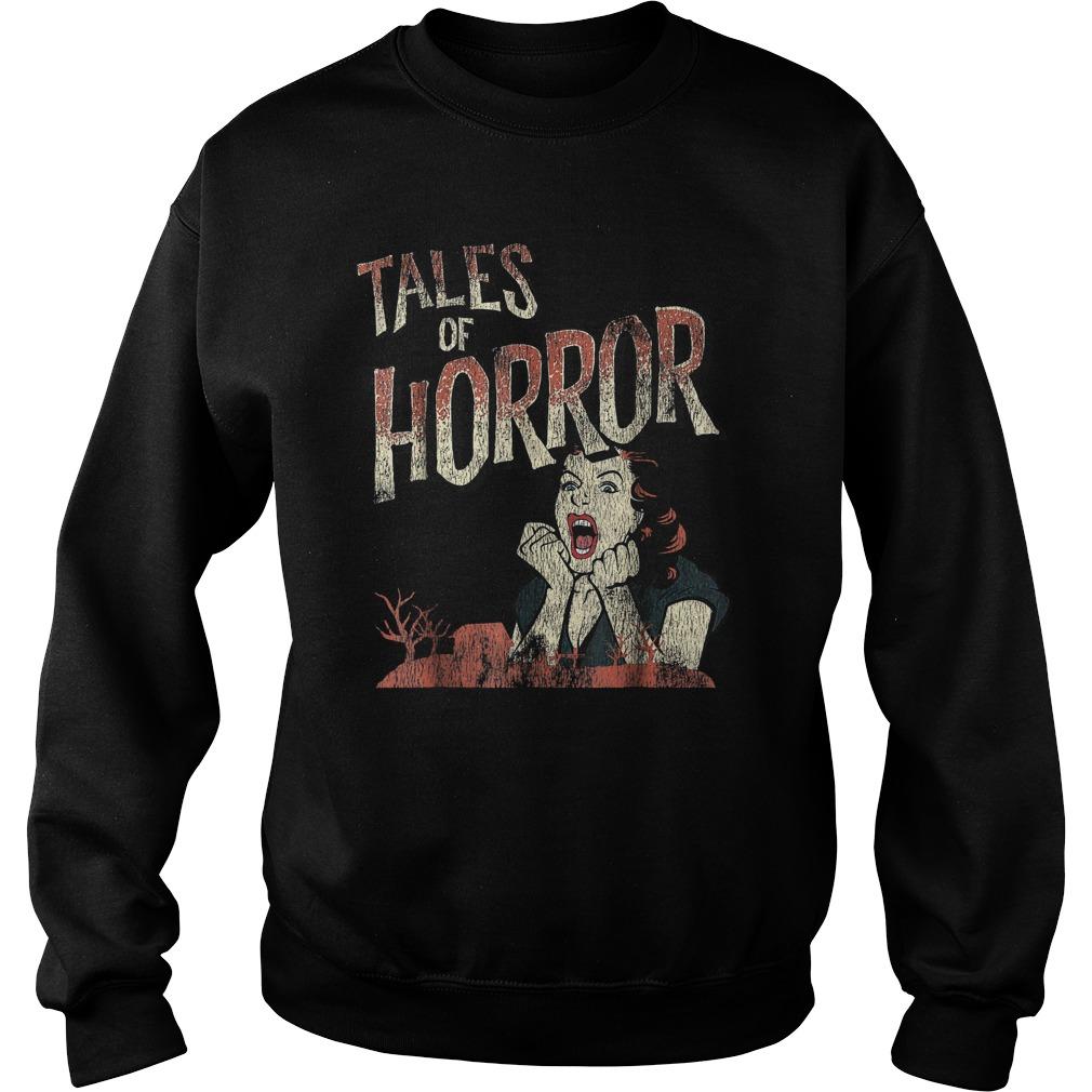 Best Price Funny Halloween Tales Of Horror T-Shirt Sweatshirt Unisex