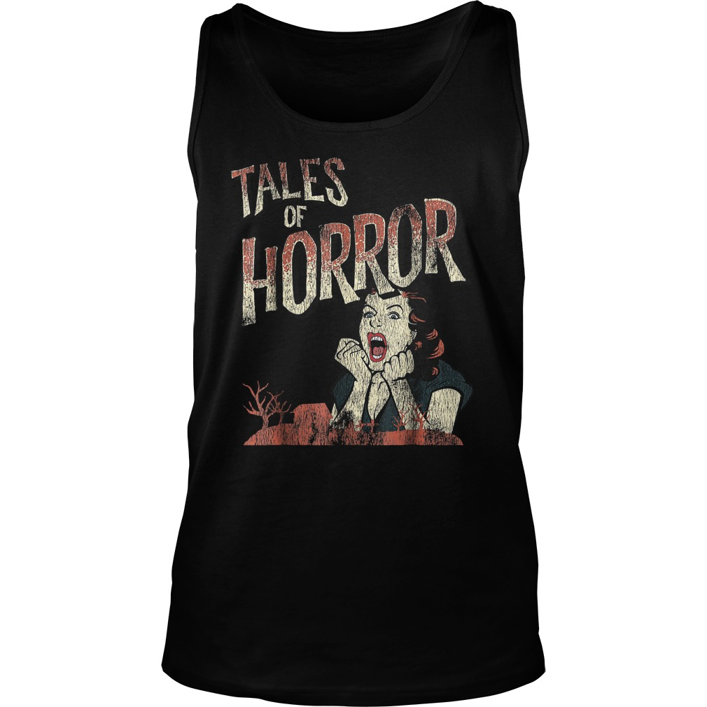 Best Price Funny Halloween Tales Of Horror T-Shirt Tank Top Unisex