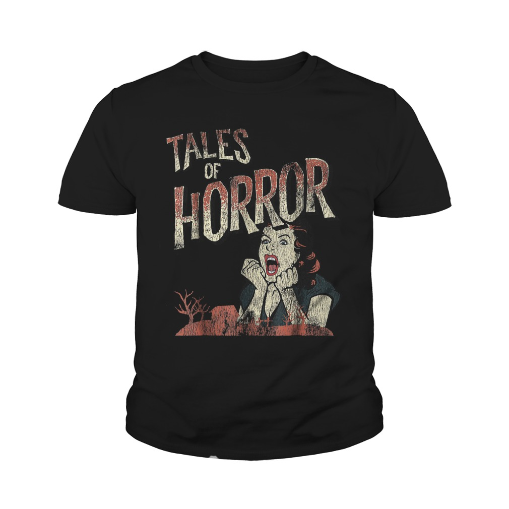 Best Price Funny Halloween Tales Of Horror T-Shirt Youth Tee