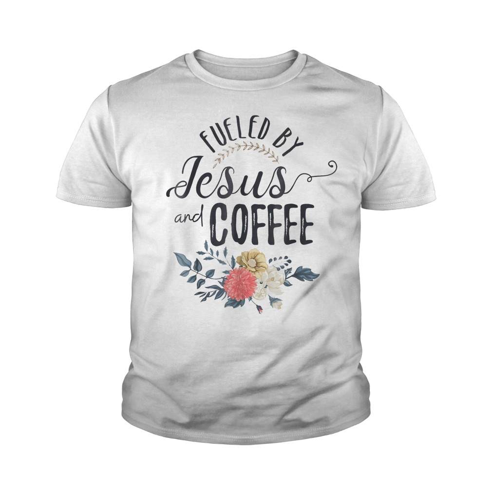 Fueled By Jesus And Coffee T-Shirt Youth Tee