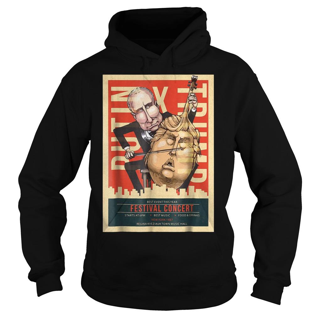 I Voted Trump Putin Concert Impeach Resist T-Shirt Hoodie