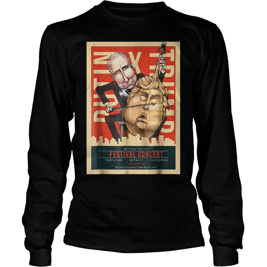 I Voted Trump Putin Concert Impeach Resist T-Shirt Longsleeve Tee Unisex