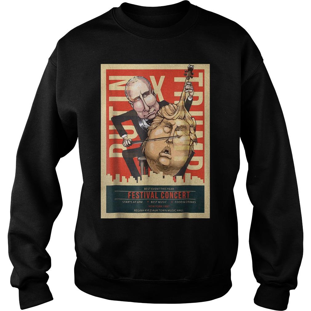 I Voted Trump Putin Concert Impeach Resist T-Shirt Sweatshirt Unisex