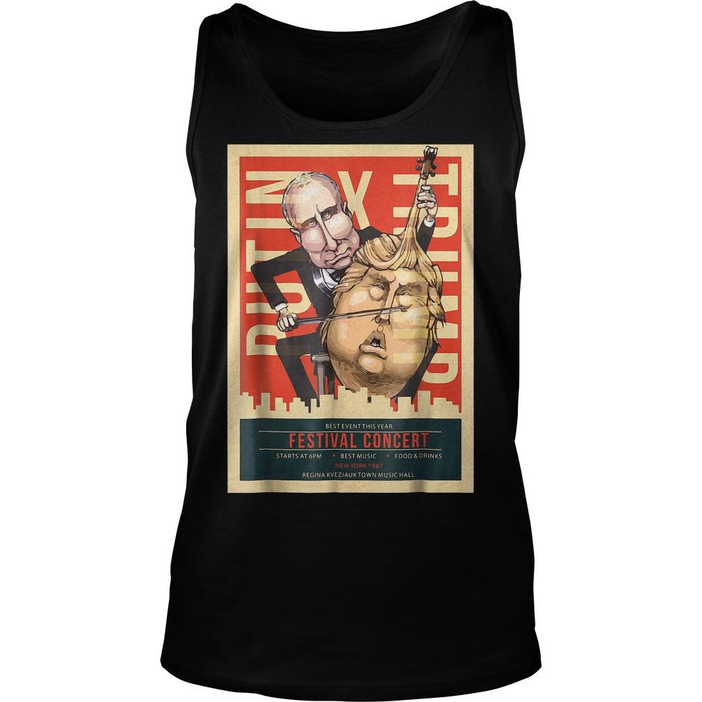 I Voted Trump Putin Concert Impeach Resist T-Shirt Tank Top Unisex