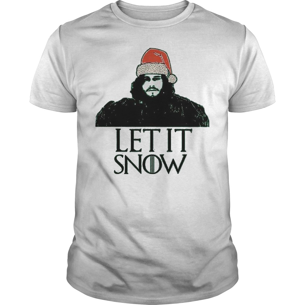 John Snow Game Of Thrones Ugly Christmas Holiday T Shirt