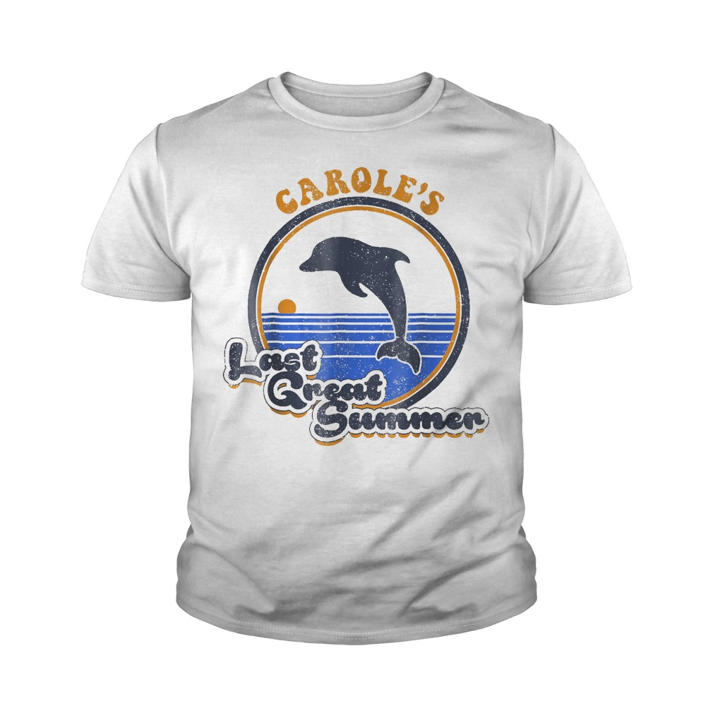 Official Carole's Last Great Summer T-Shirt Youth Tee