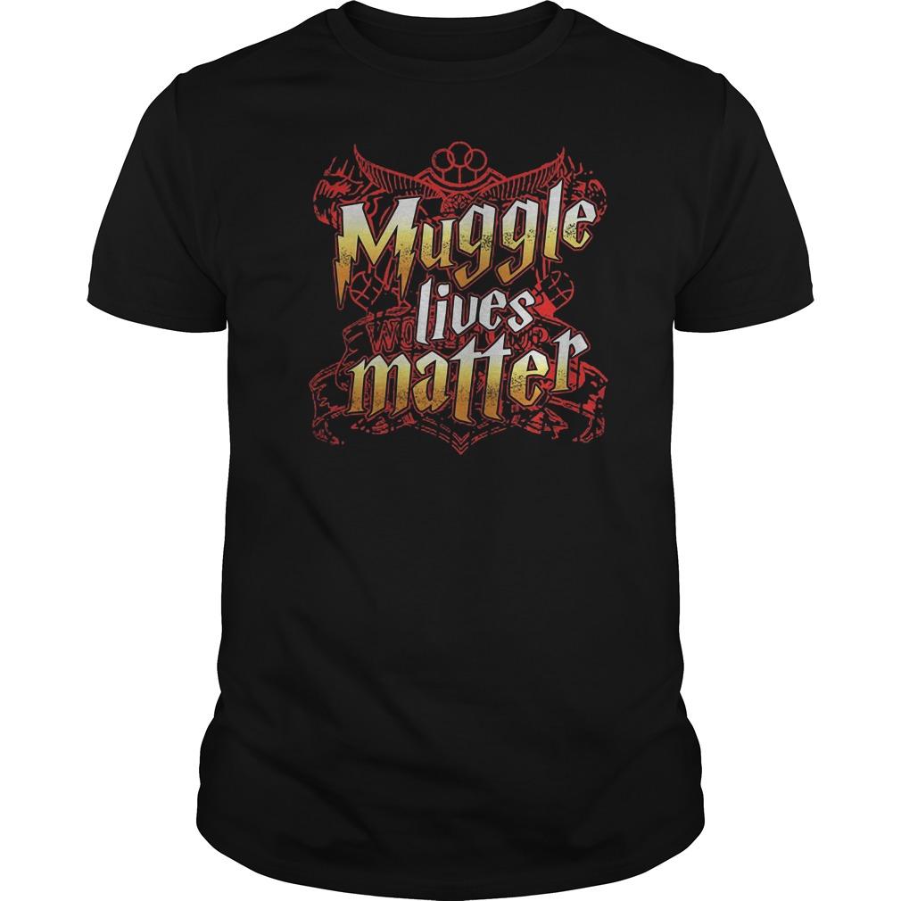 Official Muggle Lives Matter T-Shirt Classic Guys / Unisex Tee