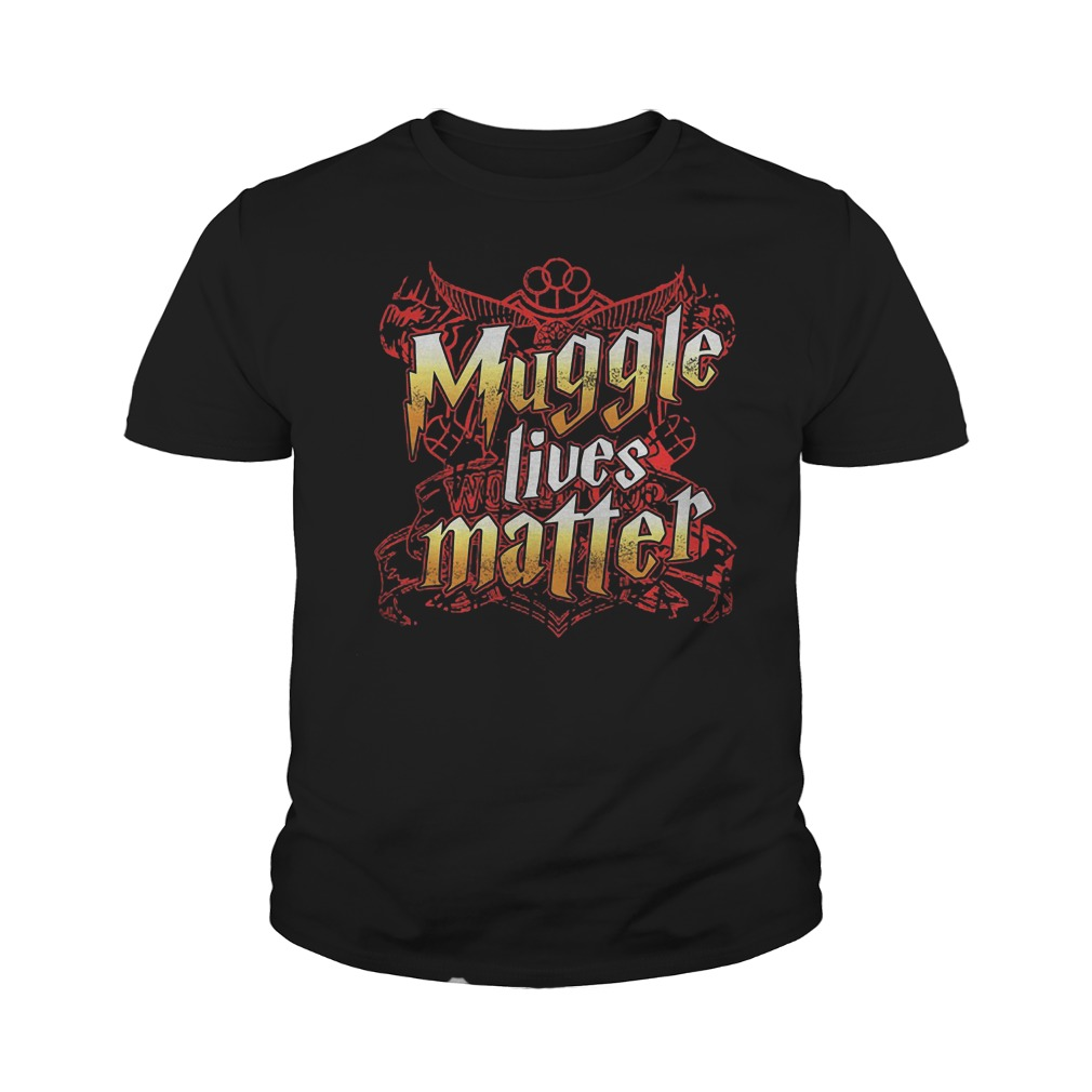 Official Muggle Lives Matter T-Shirt Youth Tee