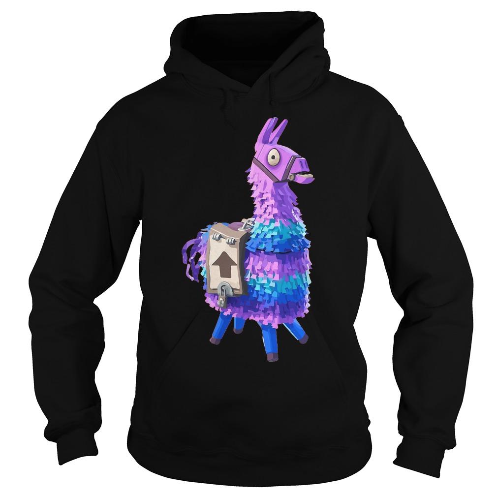 Premium Fortnite Llama T-Shirt Hoodie