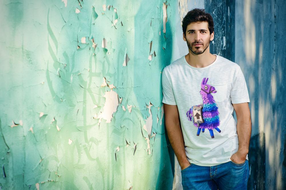 Premium Fortnite Llama T Shirt